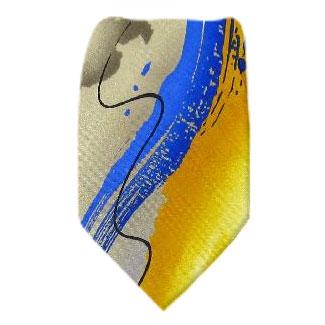 Gold XL Jerry Garcia Tie Ties