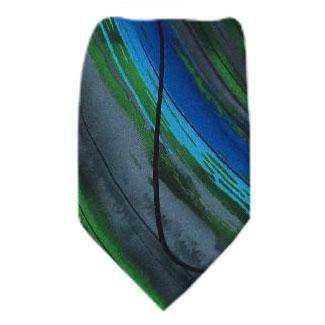 Green XL Jerry Garcia Tie Ties