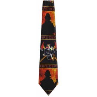 Fireman Tie Occupation Ties