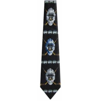 Hockey Mask Tie Sports Ties