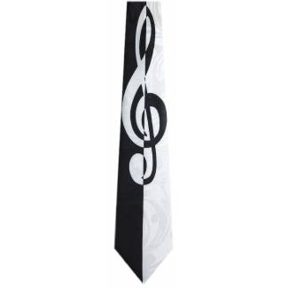 G Clef Notes Tie Music Ties