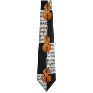 Violin Tie Music Ties