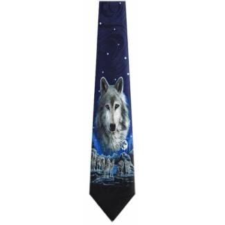 Wolf Tie Animal Ties
