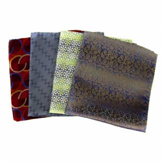 Silk Pocket Square Pack
