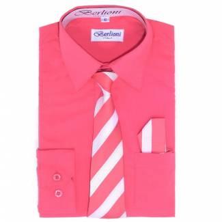 Coral Dress Shirt