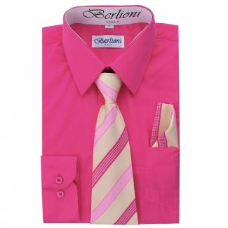 Fuchsia Dress Shirt