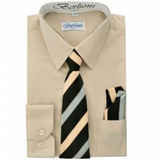 Khaki Dress Shirt