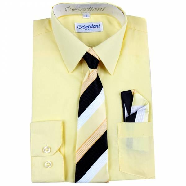 Lemon Dress Shirt