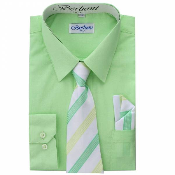 Lime Dress Shirt