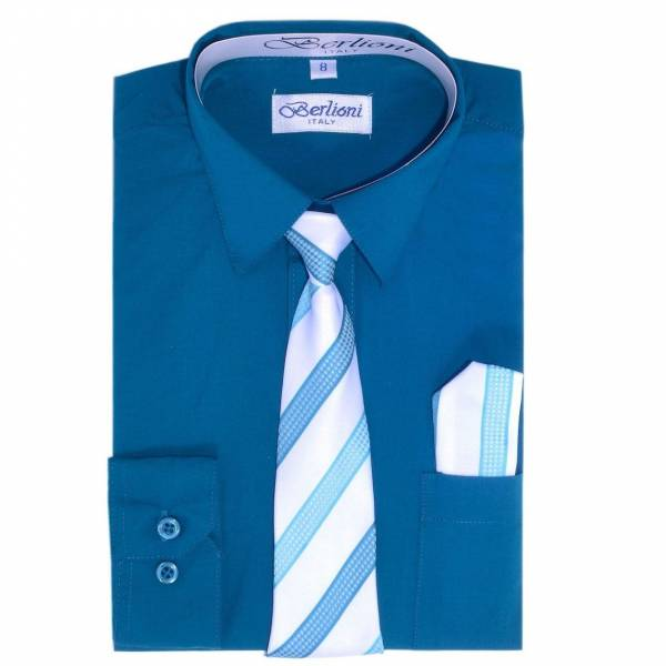 Teal Dress Shirt