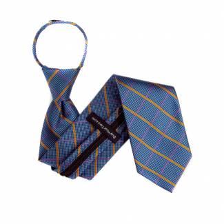 Aqua Mens Zipper Tie Regular Length Zipper Tie