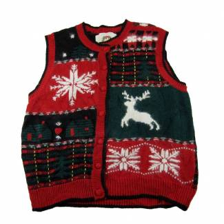 Small Ugly Christmas Sweater Vest