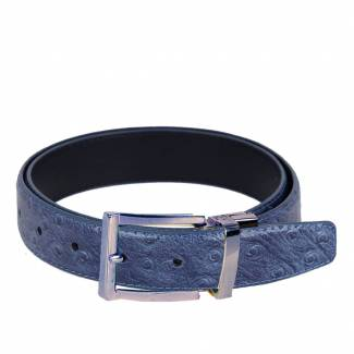 Ostrich Skin Belts Mens