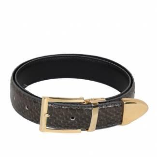 Snake Skin Belt Mens