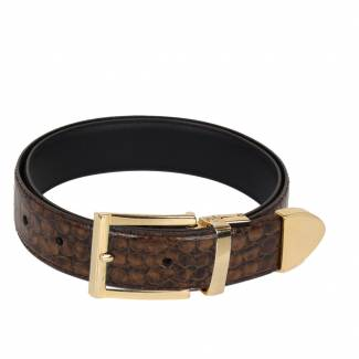 Crocodile Skin Belt Belts