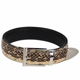 Python Skin Belt Belts