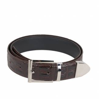 Hornback Skin Belts Mens