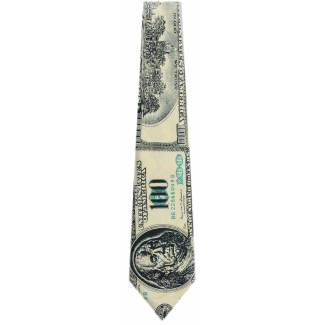 100 Dollar Bill Tie Occupation Ties