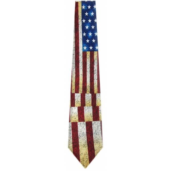 USA Flag Tie Flag Ties
