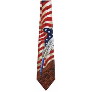 USA Flag Tie Flag Ties