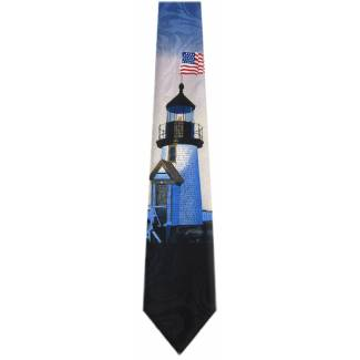 Light House Tie Flag Ties