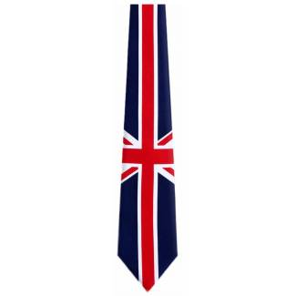 Union Jack Tie Flag Ties
