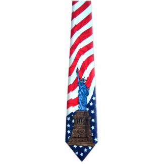 USA Flag Tie Occupation Ties