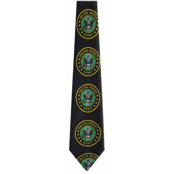 US Army Tie Military Ties