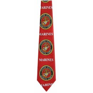 US Marines Tie Military Ties