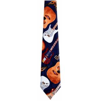 Guitar Tie Music Ties