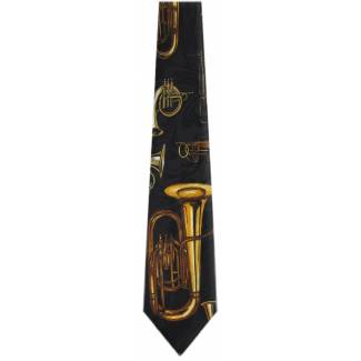 Horns Tie Music Ties