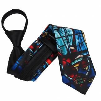 Christmas Zipper Tie Regular Length Zipper Tie