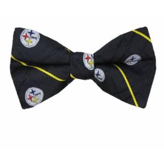 Steelers Pre Tied Bow Tie Pre Tied Novelty
