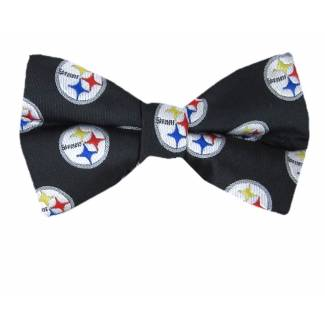 Steelers Pre Tied Bow Tie Pre Tied Novelty