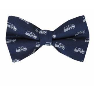 Seahawks Pre Tied Bow Tie Pre Tied Novelty