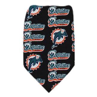 Dolphins Necktie NFL