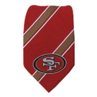 49ers Necktie NFL