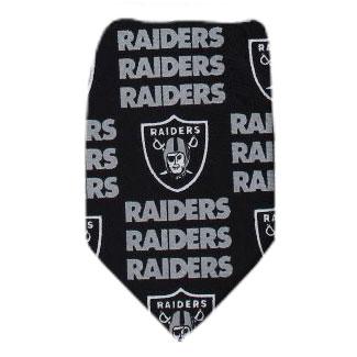 Raiders Necktie NFL