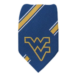 West Virginia Necktie NCAA