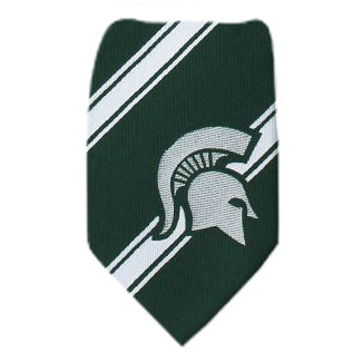 Michigan State Necktie NCAA
