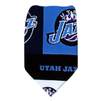 Utah Jazz NBA Necktie NBA Ties