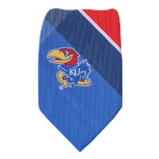Kansas Necktie NCAA