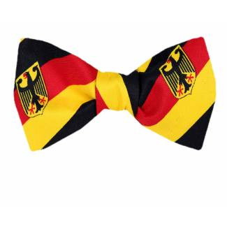 German Flag Self Tie Bow Tie Self Tie