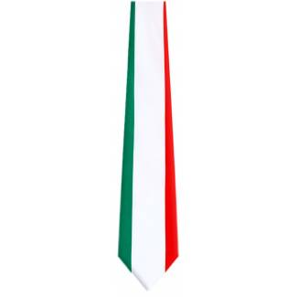 Italian Flag Necktie Flag Ties