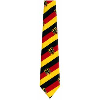 German Flag Necktie Flag Ties