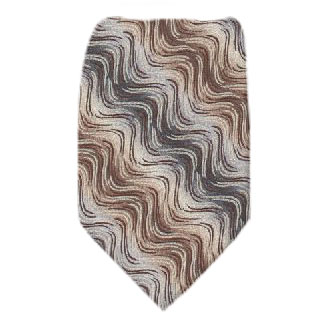 Pattern Extra Long Silk Tie Ties