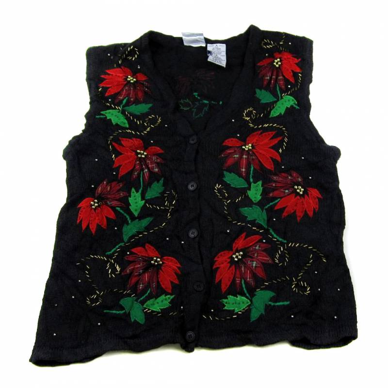small ugly christmas sweater vest small zoom - Christmas Sweater Vest