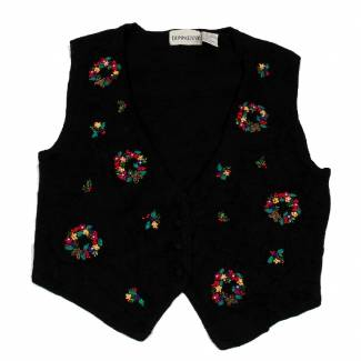 Medium Ugly Christmas Sweater Vest Medium