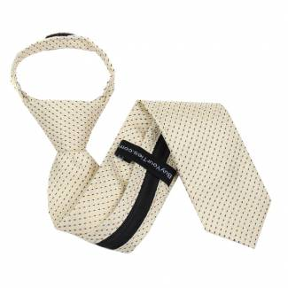 Yellow Boys 14 inch Zipper Tie Zipper Tie 14 inch