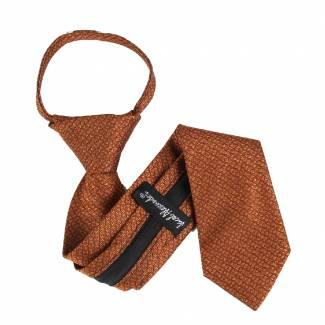 Orange Boys 14 inch Zipper Tie Zipper Tie 14 inch